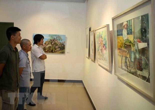 越南与亚洲各国艺术家交流会暨展会在河内开幕 hinh anh 2