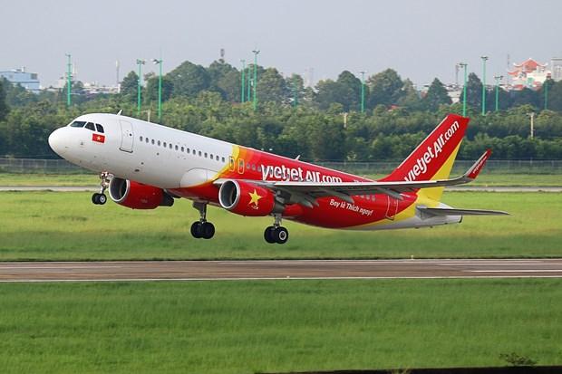 越捷出售越南河内至日本东京直达航线的250万张零越盾起的机票 hinh anh 1