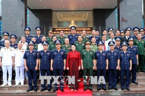 阮氏金银:越南海警须确保海上主权及安全秩序并为国家拥有和平发展的环境做出贡献 hinh anh 2
