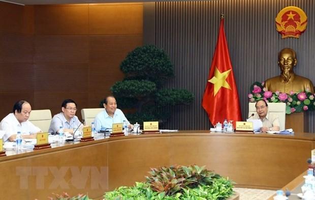 政府常务会议:预计2018年所有12项目标将全面完成 hinh anh 1
