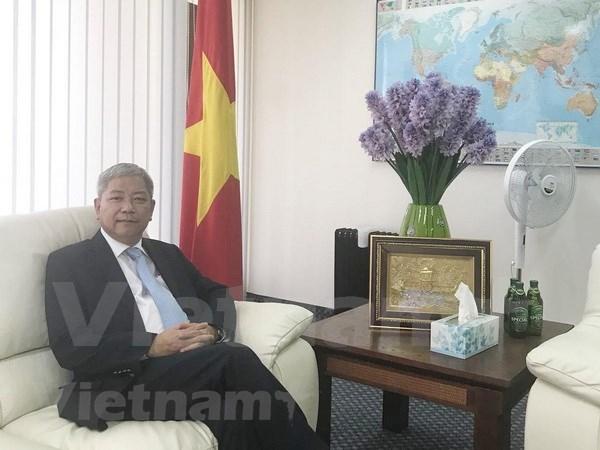 高陈国海大使:越南与以色列关系正步入黄金时期 hinh anh 1