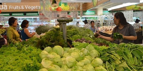 2018年8月份越南全国CPI指数略增 hinh anh 1