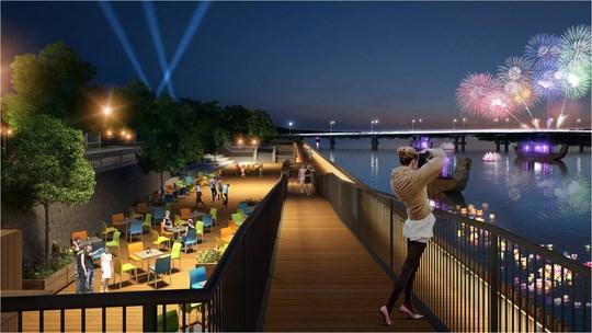由韩国资助的香江沿岸步行街将于9月15日投入使用 hinh anh 1