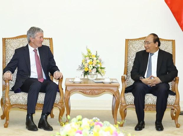 越南政府总理阮春福会见新西兰农业部长达米安•奥康纳 hinh anh 2