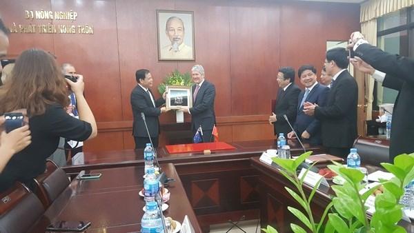 越南与新西兰加强农业合作 努力提升农产品价值 hinh anh 2