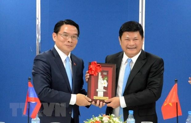 胡志明市越老友好协会与老挝深化合作关系 hinh anh 1