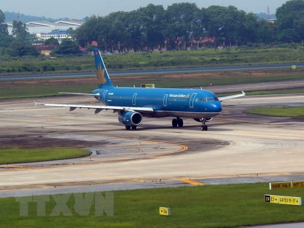 越航派遣专机前往印尼接载越南体育代表团和越南国奥队 hinh anh 1