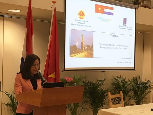 越南借鉴荷兰智慧城市建设经验 hinh anh 1
