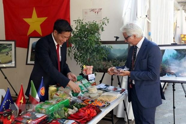 越南首次参加意大利国际辣椒博览会活动 hinh anh 1