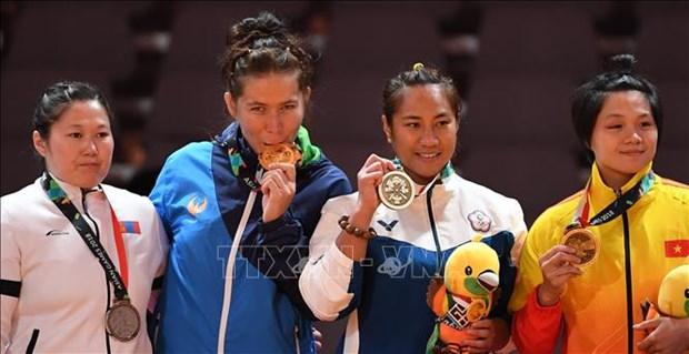 ASIAD 2018:阮氏兰武士在克拉术比赛项目夺得铜牌 hinh anh 1