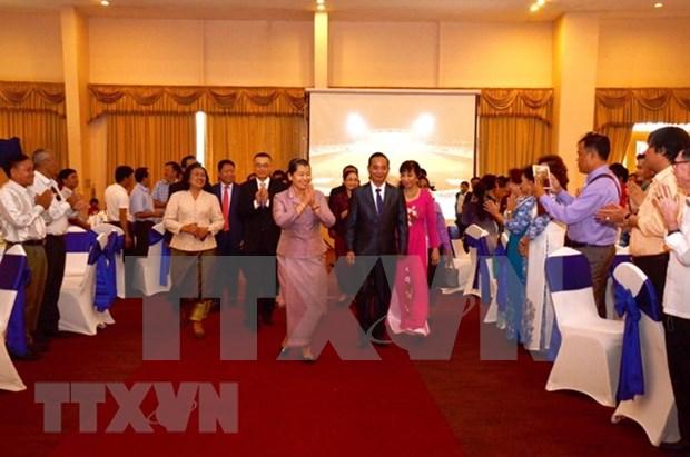 柬埔寨高棉-越南协会成立30周年纪念典礼在柬举行 hinh anh 1