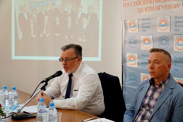 """""""越俄关系:潜力与发展"""" 圆桌研讨会在俄罗斯举行 hinh anh 2"""