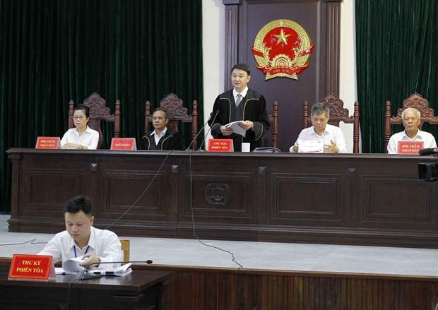 越南石油石化和纺织纤维合资公司前董事长获刑28年 hinh anh 2
