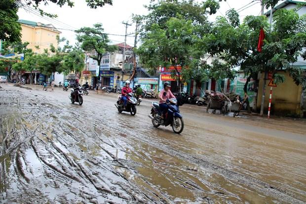 政府总理下达公函指示应对九龙江三角洲和北部地区水灾 hinh anh 2