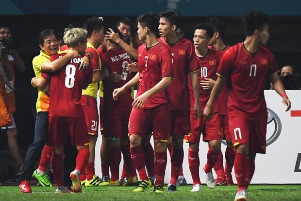 ASIAD 2018:越南国奥队下决心拿铜牌 hinh anh 1
