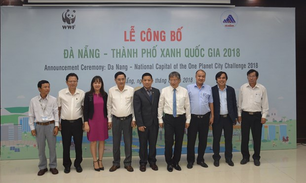 """岘港市荣获""""2018年越南国家绿色城市""""称号 hinh anh 1"""