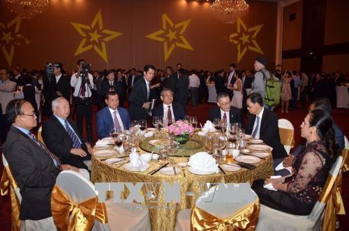 越南驻外代表机构举行国庆73周年纪念活动 hinh anh 2