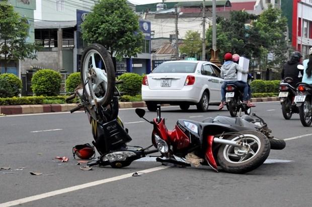 前8月交通事故致5366人死亡 hinh anh 1