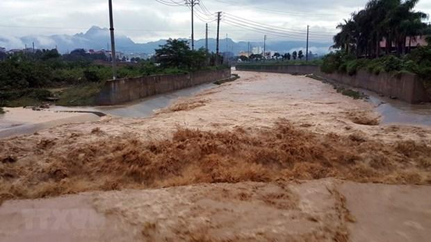 越南西北地区多省出现暴雨至大暴雨天气 造成重大损失 hinh anh 1
