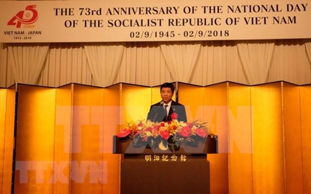越南驻外大使馆纷纷举行九二国庆节庆祝活动 hinh anh 2