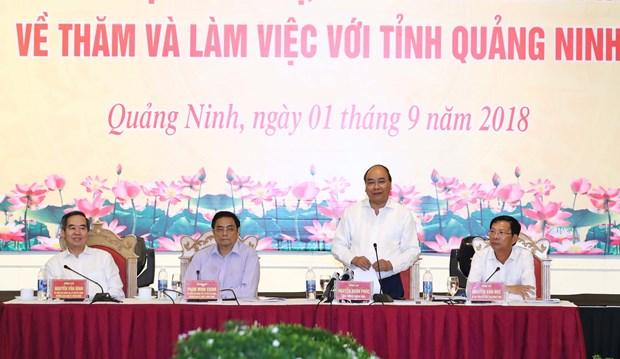 阮春福:广宁省需发挥好北部的增长极作用 hinh anh 1