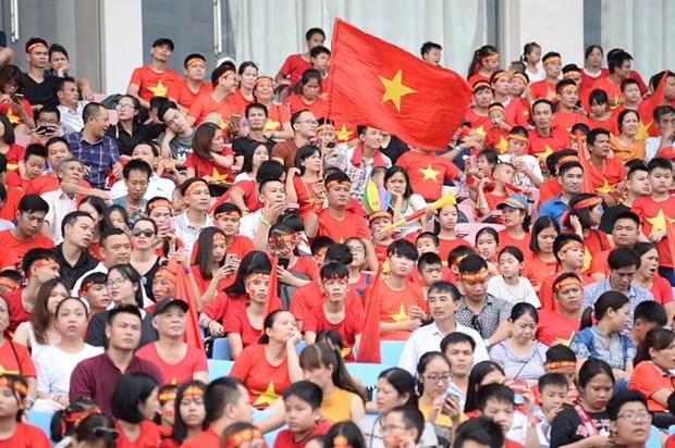 ASIAD 2018:越南体育代表团受到国内人民的热烈欢迎 hinh anh 2
