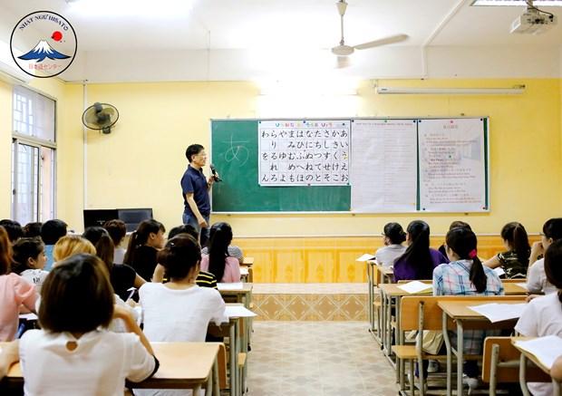 越南全国日语普及率日益提升 hinh anh 1