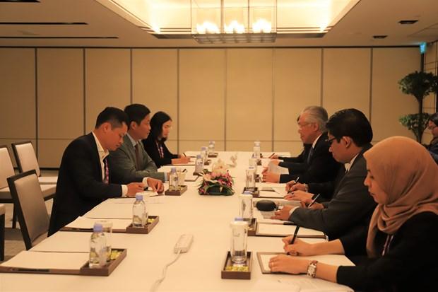 第50届东盟经济部长会议:越南积极参加讨论并主动建言献策 hinh anh 2