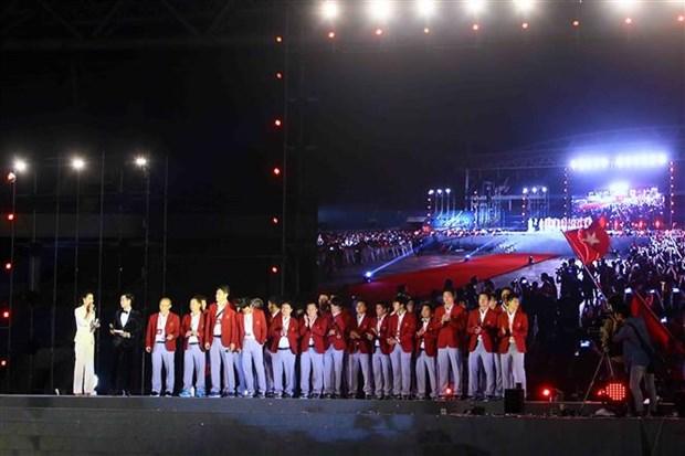 """越南体育代表团 """"越南自豪""""表彰会隆重举行 hinh anh 2"""