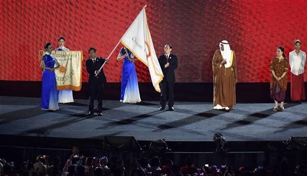 第18届亚运会在印尼雅加达正式闭幕 下届亚运会2022年将在中国杭州举办 hinh anh 1