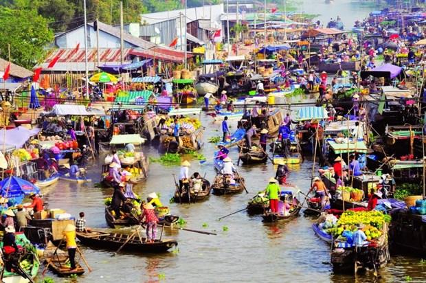 国庆期间芹苴市和巴地头顿省景区迎来大批游客 hinh anh 1