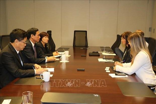 越南岘港与加拿大各大城市促进贸易与投资合作 hinh anh 2