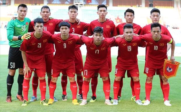 越南足球跻身亚洲顶级水平 hinh anh 1