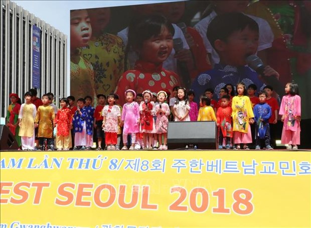 越南文化节亮相韩国首都首尔 hinh anh 1