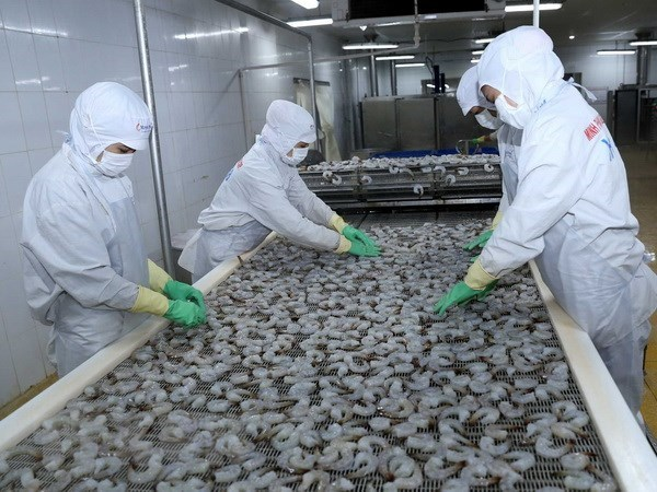 越南水产品出口额难以突破100亿美元大关 hinh anh 1