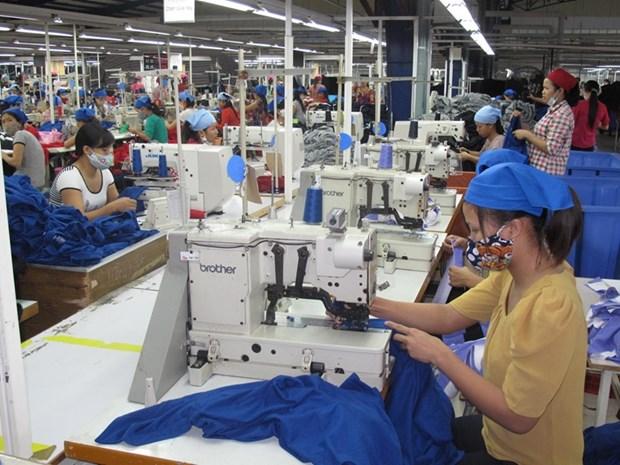永福省部分工业区企业入驻达100% hinh anh 1