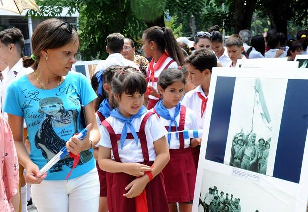 古巴领袖菲德尔·卡斯特罗访问越南45周年纪念活动在哈瓦那举行 hinh anh 2