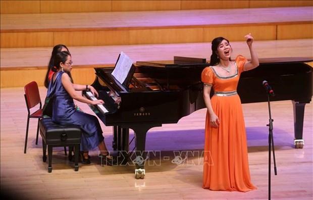 """庆祝""""越南音乐日""""艺术活动在河内举行 hinh anh 1"""
