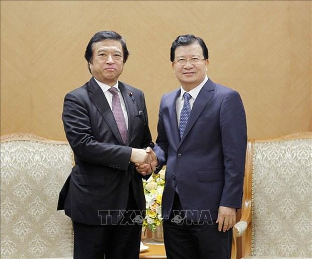 促进越南与日本在经济与海洋科学领域的合作 hinh anh 1