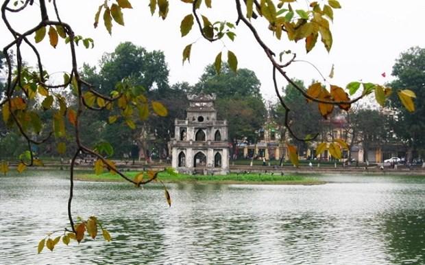 国庆小长假河内市接待国际游客量增长16% hinh anh 1
