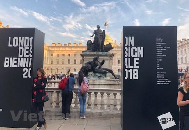 越南当代艺术亮相 2018年第2届伦敦设计双年展 hinh anh 1