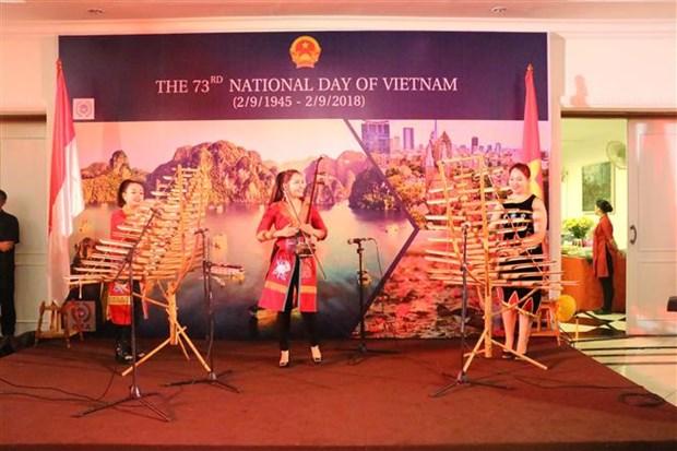 越南驻印度尼西亚大使馆举行国庆庆祝活动 hinh anh 2