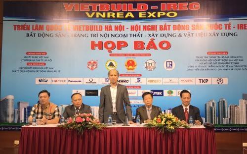 2018第二次越南河内市国际建材展吸引400家企业参展 hinh anh 1