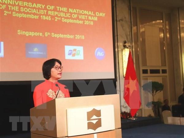 越新合作为东盟共同体的团结与发展做出积极贡献 hinh anh 1