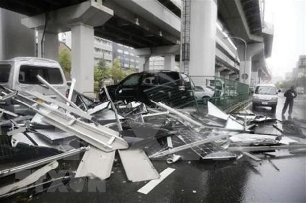 越南驻日本大阪市总领事馆:未接到有越南人在台风飞燕中伤亡的报告 hinh anh 1