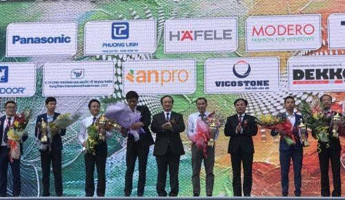 2018年越南国际建材展开幕 hinh anh 1