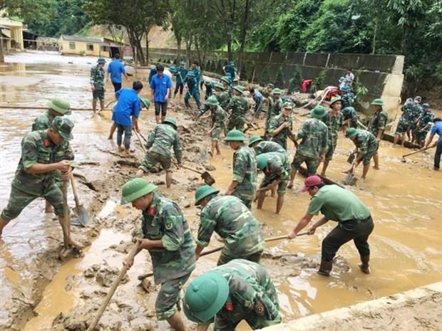 越南政府上调关于支持越南减缓气候变化影响项目的ODA资金 hinh anh 1