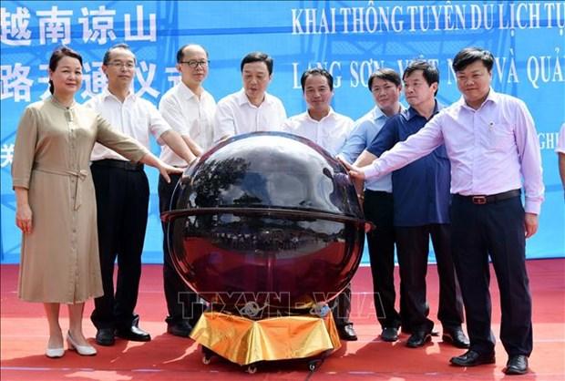 越南谅山省-中国广西跨国自驾车旅游线正式开通 hinh anh 1