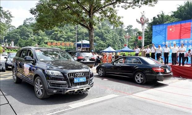 越南谅山省-中国广西跨国自驾车旅游线正式开通 hinh anh 2