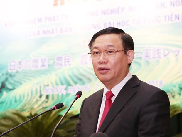 政府副总理王廷惠:三农在国家工业化现代化事业具有战略地位 hinh anh 1